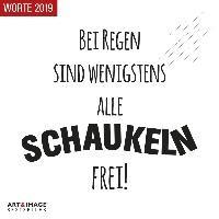 Worte 2019 Art & Image Broschürenkalender