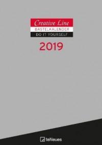 Creative Line Bastelkalender 2019 Silber
