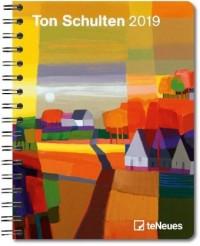 Ton Schulten 2019 Buchkalender Deluxe