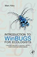 Introduction to WinBUGS for Ecologists