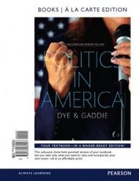 Politics in America, 2014 Elections and Updates Edition, Books a la Carte