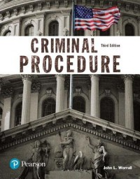 Criminal Procedure (Justice Series), Student Value Edition