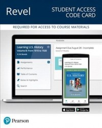 Revel for Learning U.s. History, Quarter 2 Access Card