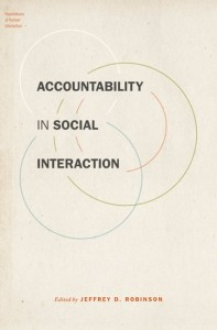 Accountability in Social Interaction