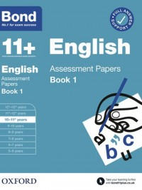 Bond 11+: Bond 11+ English Assessment Papers 10-11 years Book 1