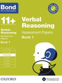 Bond 11+: Bond 11+ Verbal Reasoning Assessment Papers 9-10 years Book 1