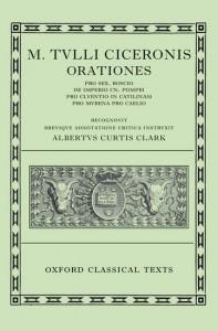 Cicero Orationes. Vol. I