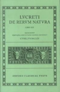 Lucretius De Rerum Natura