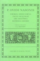 Ovid Amores, Medicamina Faciei Femineae, Ars Amatoria, Remedia Amoris