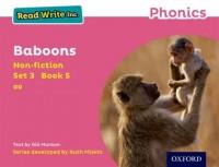 Read Write Inc. Phonics: Pink Set 3 Non-fiction 5 Baboons