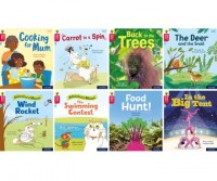 Oxford Reading Tree Word Sparks: Level 4: Mixed Pack of 8