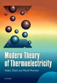 Modern Theory of Thermoelectricity
