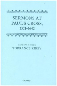 Sermons at Paul's Cross, 1520-1640