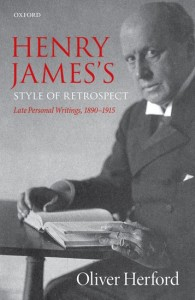 Henry James's Style of Retrospect