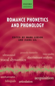 Romance Phonetics and Phonology