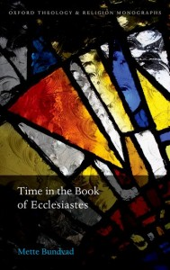 Time in the Book of Ecclesiastes
