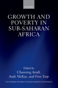 Growth and Poverty in Sub-Saharan Africa