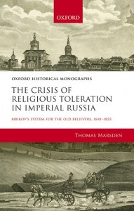 The Crisis of Religious Toleration in Imperial Russia