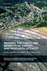 Sharing the Costs and Benefits of Energy and Resource Activity