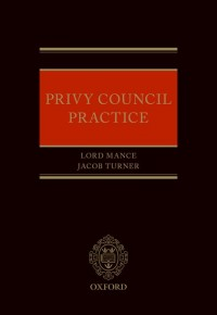Privy Council Practice
