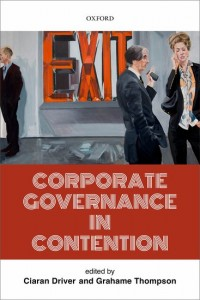 Corporate Governance in Contention