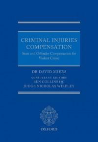 Criminal Injuries Compensation