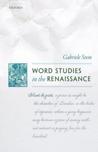 Word Studies in the Renaissance
