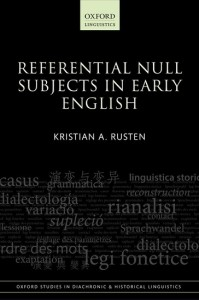 Referential Null Subjects in Early English