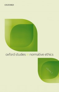 Oxford Studies in Normative Ethics, Vol 7