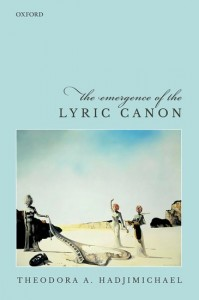 The Emergence of the Lyric Canon