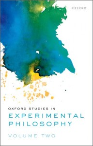 Oxford Studies in Experimental Philosophy, Volume 2