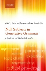 Null Subjects in Generative Grammar