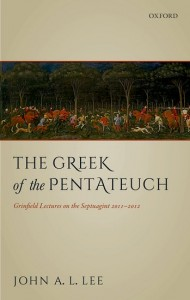 The Greek of the Pentateuch