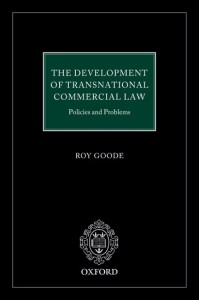 The Development of  Transnational Commercial Law