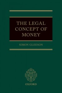 The Legal Concept of Money