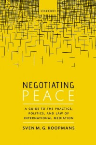 Negotiating Peace