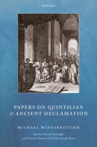 Papers on Quintilian and Ancient Declamation