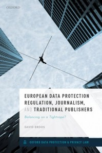 European Data Protection Regulation, Journalism, and Traditional Publishers