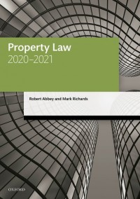 Property Law 2020-2021