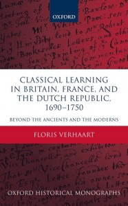 Classical Learning in Britain, France, and the Dutch Republic, 1690-1750
