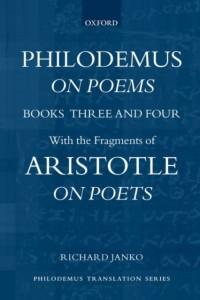 Philodemus, On Poems, Books 3-4