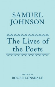 Samuel Johnson's Lives of the Poets