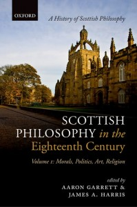 Scottish Philosophy in the Eighteenth Century, Volume I