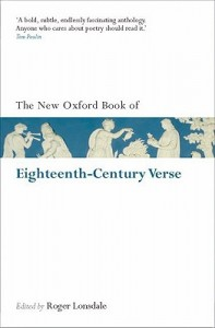 The New Oxford Book of Eighteenth-Century Verse