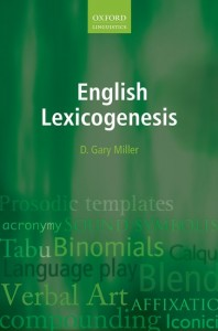 English Lexicogenesis