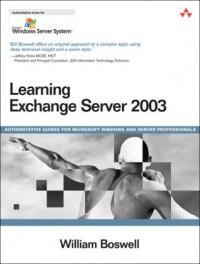 Learning Exchange Server 2003