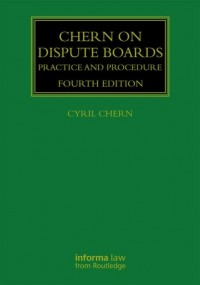 Chern on Dispute Boards