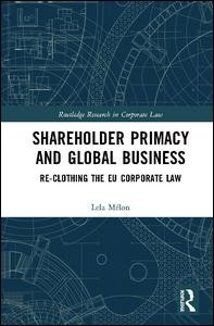 Shareholder Primacy and Global Business