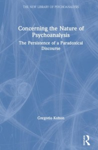Concerning the Nature of Psychoanalysis