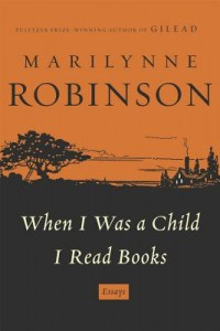 When I Was a Child I Read Books